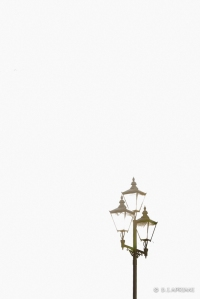 this reminds me of Venice.... rows and rows of lamp posts...
